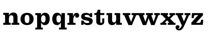 Pulpo Bold Font LOWERCASE
