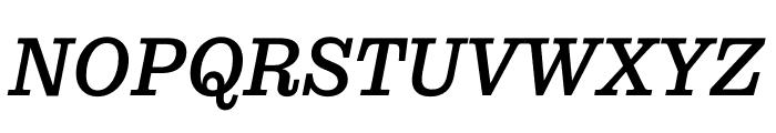Pulpo Italic Font UPPERCASE