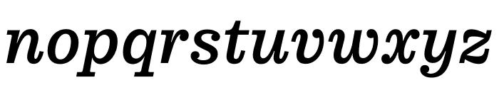 Pulpo Italic Font LOWERCASE
