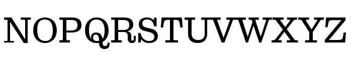 Pulpo Light Font UPPERCASE