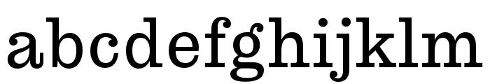 Pulpo Light Font LOWERCASE