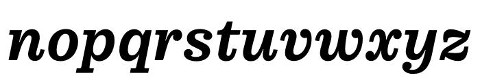 Pulpo Medium Italic Font LOWERCASE