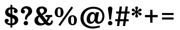Pulpo Medium Font OTHER CHARS