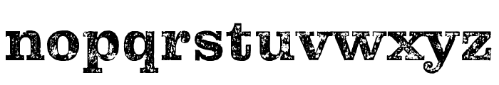 Pulpo Rust 100 Font LOWERCASE