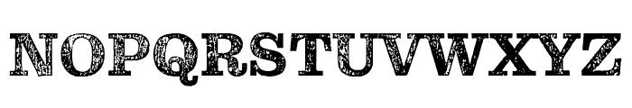 Pulpo Rust 25 Font UPPERCASE