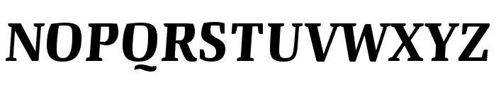 Quador Display Bold Italic Font UPPERCASE