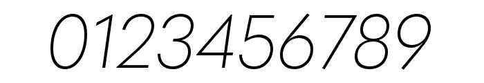 Quasimoda ExtraLightItalic Font OTHER CHARS