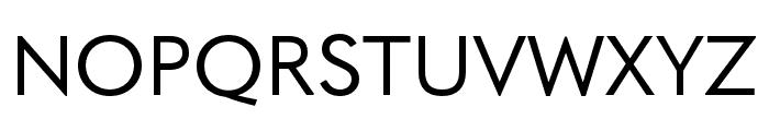 Quasimoda HairLine Font UPPERCASE