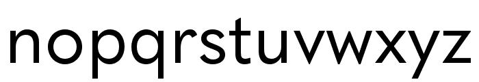 Quasimoda HairLine Font LOWERCASE