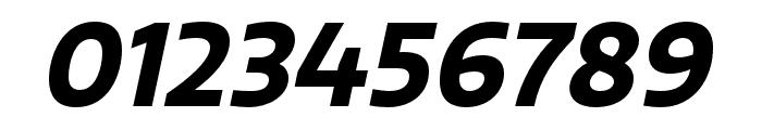 Quatro Bold Italic Font OTHER CHARS