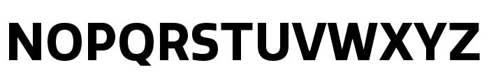 Quatro Bold Font UPPERCASE