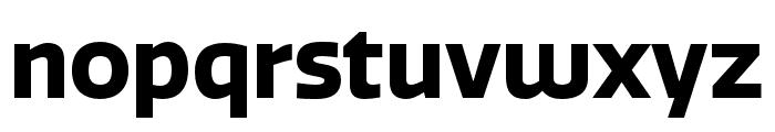 Quatro Bold Font LOWERCASE