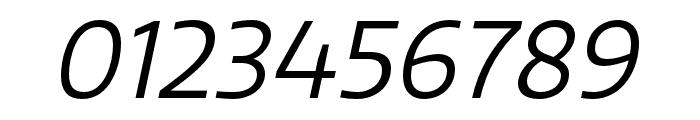 Quatro Book Italic Font OTHER CHARS