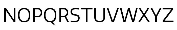 Quatro Book Font UPPERCASE