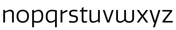 Quatro Book Font LOWERCASE