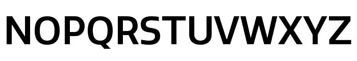 Quatro Medium Font UPPERCASE
