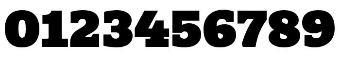 Quatro Slab UltraBlack Font OTHER CHARS
