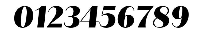 Quiche Sans Black Italic Font OTHER CHARS