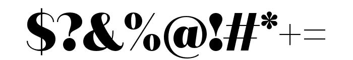 Quiche Sans Black Font OTHER CHARS