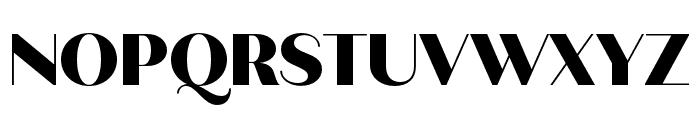 Quiche Sans Black Font UPPERCASE
