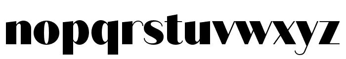 Quiche Sans Black Font LOWERCASE