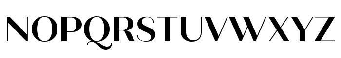 Quiche Sans Bold Font UPPERCASE
