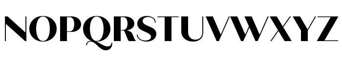 Quiche Sans ExtraBold Font UPPERCASE
