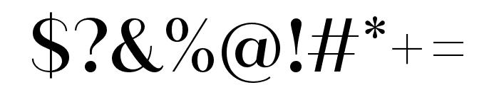 Quiche Sans Medium Font OTHER CHARS