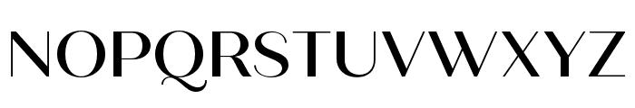 Quiche Sans Medium Font UPPERCASE