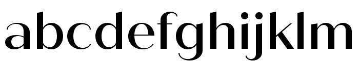 Quiche Sans Medium Font LOWERCASE