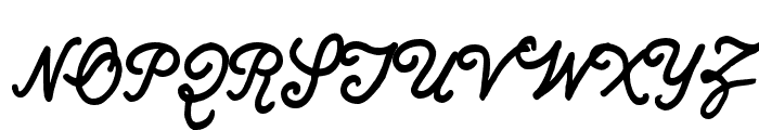 Quimby Gubernatorial Regular Font UPPERCASE