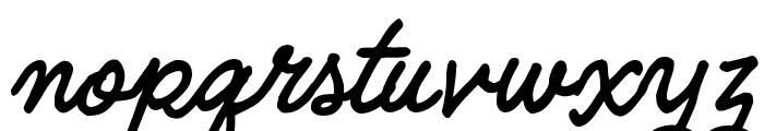 Quimby Gubernatorial Regular Font LOWERCASE