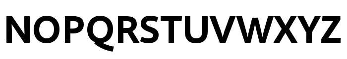 Quire Sans Pro Bold Font UPPERCASE