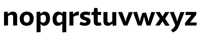 Quire Sans Pro Bold Font LOWERCASE