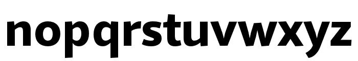 Quire Sans Pro Heavy Font LOWERCASE