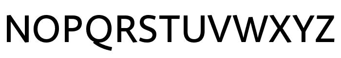 Quire Sans Pro Medium Font UPPERCASE