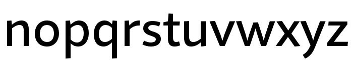 Quire Sans Pro Medium Font LOWERCASE