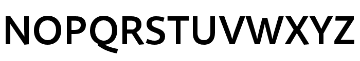 Quire Sans Pro SemiBold Font UPPERCASE