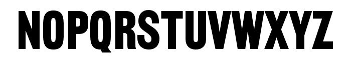 Railroad Gothic ATF Regular Font LOWERCASE