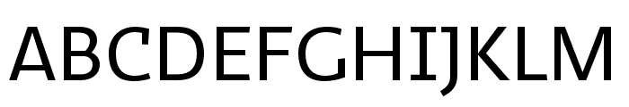 Ratio Display Regular Font UPPERCASE
