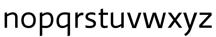 Ratio Display Regular Font LOWERCASE