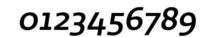 Ratio Medium Italic Font OTHER CHARS