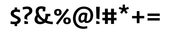 Ratio Medium Font OTHER CHARS