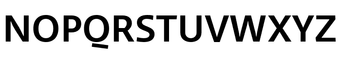 Ratio Medium Font UPPERCASE