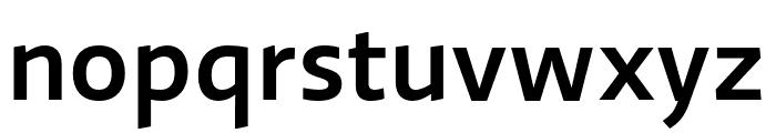 Ratio Medium Font LOWERCASE