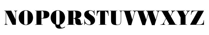Ratio Modern ExtraBold Font UPPERCASE