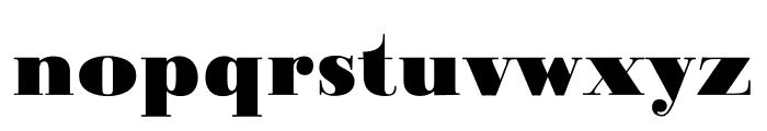 Ratio Modern ExtraBold Font LOWERCASE