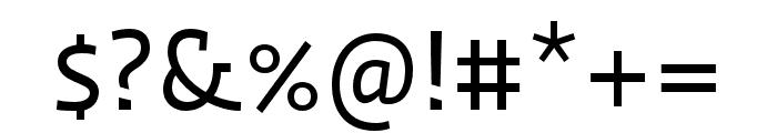 Ratio Regular Font OTHER CHARS