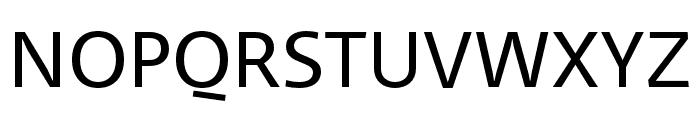 Ratio Regular Font UPPERCASE