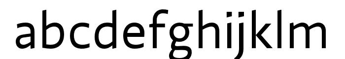 Ratio Regular Font LOWERCASE